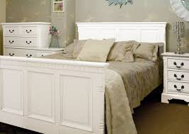 painted bedroom furniture modern add glamour to your bedroom with white brecon panel customized bed