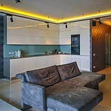 indirect ceiling lighting in yellow color for kitchen ceiling indirect lighting
