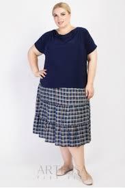 Летние <b>юбки</b> больших размеров купить для полных женщин на ...