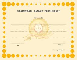 certificate templates org basketball award certificate templates certificate template zd2qnfbl