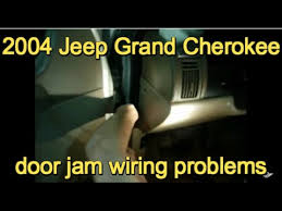2004 jeep grand cherokee driver door wiring harness 2004 2004 grand cherokee door jam wiring problem on 2004 jeep grand cherokee driver door wiring