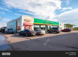 novgorod region russia bp british petroleum gas novgorod region russia 31 2016 bp british petroleum gas station in summer