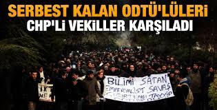 ODTÜ'lü öğrenciler serbest bırakıldı