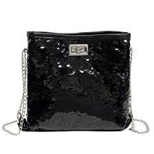 ZYooh <b>Fashion Women</b> Girls Handbag <b>Sequins</b> Tote <b>Purse</b> ...