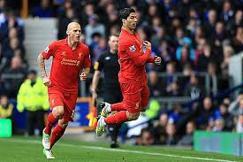 Suarez dive celebration