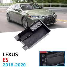 Car Organizer Accessories for LEXUS ES 2018 2019 2020 Armrest ...
