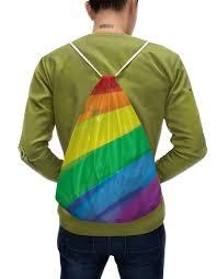 """Рюкзак-мешок с полной запечаткой """"Радуга"""" #2777466 от ualluon ..."""