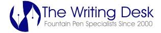 Fountain Pen Specialists: on-line and in-store - The <b>Writing Desk</b>