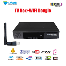 <b>Vmade Full HD 1080p</b> DVB T2 S2 8902 Decoder+USB wifi Satellite ...