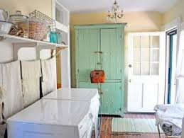 Beautiful Laundry Room Design Ideas With White Color Elegant Machines And Blue Storage Cabinets San Office   Loversiq