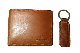 TRENDON Men's RFID Blocking Bifold Luxury <b>Oil Wax</b> Genuine ...