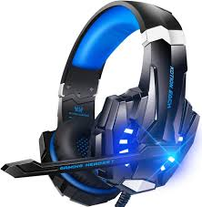 Gaming <b>Headphones</b> with Microphone <b>Bass Wired</b> Over Ear ...