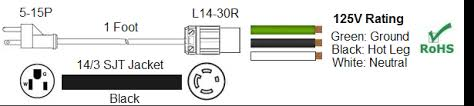 l5 30p to l14 30r wiring diagram wiring diagram l5 30r receptacle wiring diagram schematics and diagrams