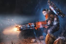 evolve unveils four new hunters a wild new map and a release evolve assault hyde minigun