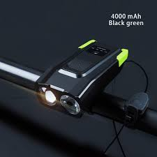<b>Induction Bicycle Front</b> Light USB Rechargeable <b>Smart</b> Headlight ...