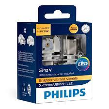 <b>Лампа PHILIPS</b> PY21W 12V LED (BAU15s) X-tremeUltinon LED + ...