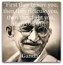 Ma vie est mon seul enseignement       Mohandas Karamchand Gandhi     Pinterest