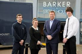 alex mckay samantha oram james barker and ellis little barker stonehouse furniture