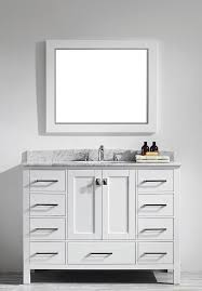 usa tilda single bathroom vanity set: eviva evvnwh aberdeen  white bathroom vanity with white carrera countertop kitchen bath collection nantucket single bathroom vanity set