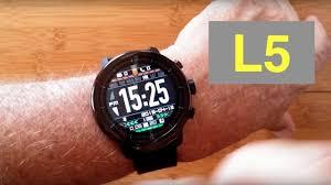 Microwear (Bakeey) <b>L5</b> IP68 Waterproof <b>Smartwatch</b> with White LED ...
