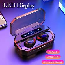 <b>F8</b> TWS LED Display Digital Touch Earphone 5.0 Mini <b>Wireless</b> ...