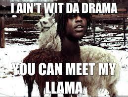 Chief Keef Llama memes | quickmeme via Relatably.com