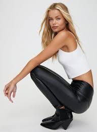 DARIA <b>PANT</b> - <b>Faux</b>-<b>leather</b> legging