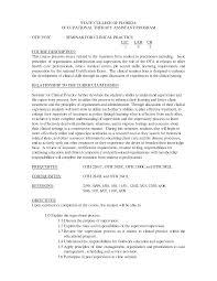 ot resume samples resume format 2017 ot