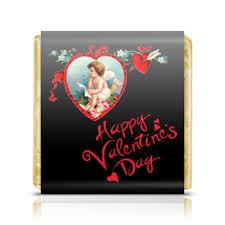 Шоколадка 3,5×3,5 см <b>Happy</b> Valentine's Day! #2400134