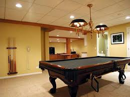 basement billiard room decorating ideas billiard room lighting