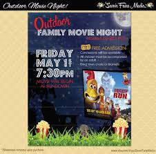 outdoor movie night flyer movie on the green poster 128270zoom