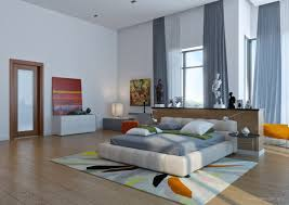 modern bedroom concepts:   modern colorful bedroom