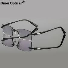Gmei Optical Phantom <b>Trimming</b> Titanium Alloy None Diopters ...