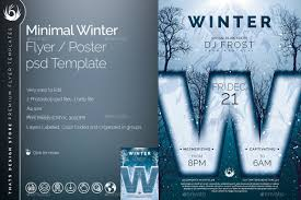 minimal winter flyer template by lou graphicriver 01 minimal winter flyer template jpg 02 minimal winter flyer template jpg