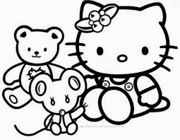 coloring page template category page com 7 photos of hello kitty coloring pages games