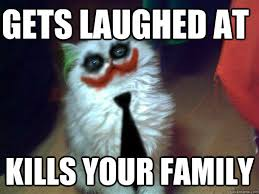 Why So Serious Cat memes | quickmeme via Relatably.com