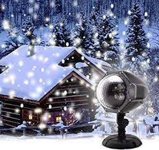 christmas led snow projector