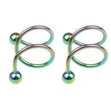 <b>Серьги в форме спирали</b> купить в интернет-магазине Pandao.ru ...