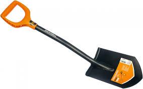 <b>Штыковая укороченная лопата FISKARS</b> SolidTM 1026667: цена ...