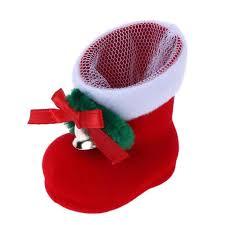 <b>Christmas</b> Red Boots Candy Gift Bag <b>Santa Claus Christmas</b> ...