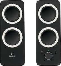 Logitech Z200 2.0 Multimedia Speakers (<b>2</b>-<b>Piece</b>) <b>Black</b> 980 ...