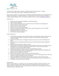 healthcare medical resume   receptionist resume duties medical    healthcare medical resume receptionist resume duties medical receptionist job description medical sample resume medical receptionist