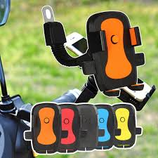 <b>Motorcycle</b> Scooter Mobile Phone Holder <b>Adjustable Rear</b> View ...