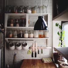 Diy Kitchen Wall Shelves Diy Wall Shelves With Wooden Material For Your Kitchen 4722