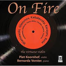 On <b>Fire</b>: The Virtuoso <b>Violin</b> by Piet Koornhof on Amazon Music ...