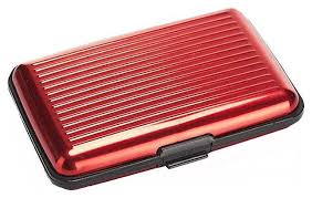 Купить <b>кошелек</b> алюминиевый <b>Bradex</b> «<b>Мультикард</b>», Красный ...