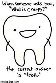 tension & thrill: Personification: Wisdom Teeth. via Relatably.com