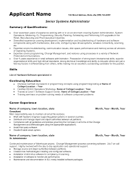 Stunning Network Administrator Resume Template Copy Featuring Qualifications Overview and Professional Experience a part of under