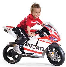 <b>Детский электромотоцикл</b> Peg Perego <b>Ducati</b> GP Rossi MC0020 ...