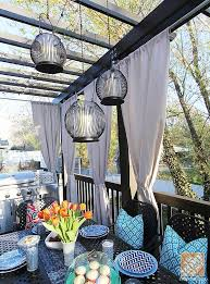 deck decorating ideas pergola lights and cement planters blog 3 deck accent lighting